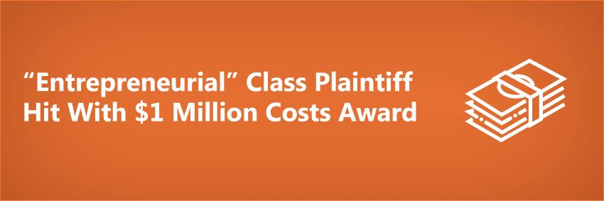Money_Entrepreneurial Class Plaintiff