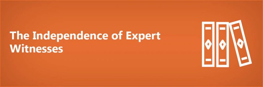 Independence of Expert Witnesses