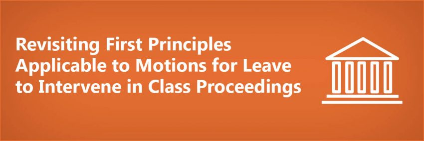 Motions for Leave